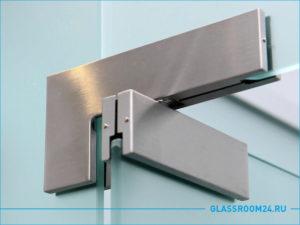 Алюминиевая матовая петля для двери из стекла
